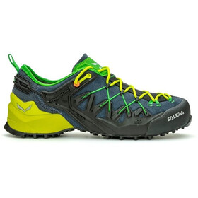 SALEWA Wildfire Edge Chaussures Homme, ombre blue/fluo yellow
